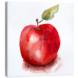 Canvas print  Sweet apple watercolor
