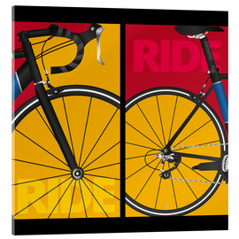 Acrylic print  Pop art ride