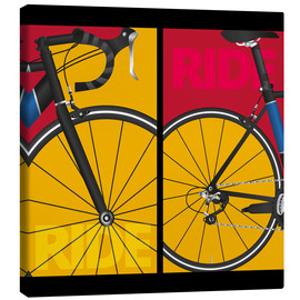 Canvas print  Pop art ride