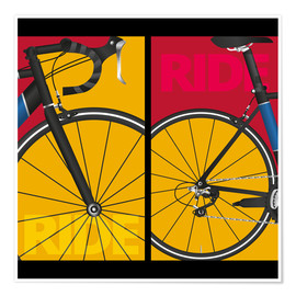 Premium poster  Pop art ride