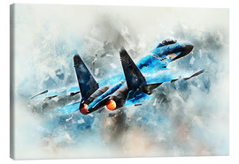 Canvas print  Flanker - airpowerart