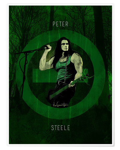 Poster peter steele