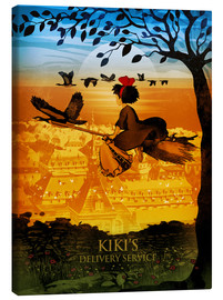 Canvas  Kiki's Delivery Service - Albert Cagnef