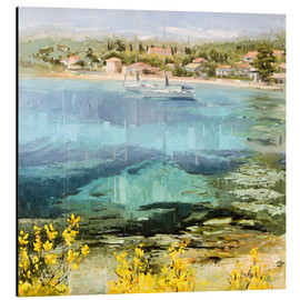 Aluminium print  Clear water - Johnny Morant