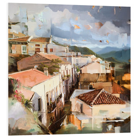 Foam board print  Roofs of Sicily - Johnny Morant