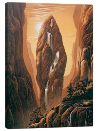 Canvas  The Rock - Georg Huber