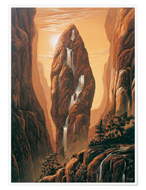 Poster  The Rock - Georg Huber
