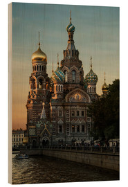 Wood  Cathedral of the Savior in Sankt Petersburg - Jaroslaw Blaminsky