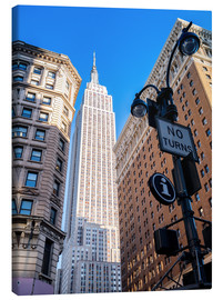 Canvas print  New York City Sky High, Empire State Building - Sascha Kilmer