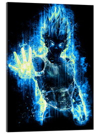 Acrylic glass  God Prince of Saiyans - Barrett Biggers