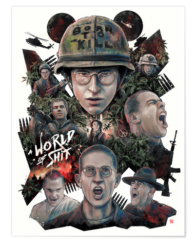 Premium poster full metal jacket