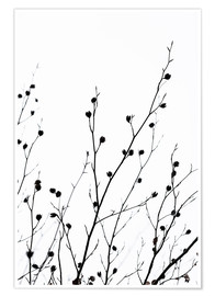 Poster Winter Silhouettes 2