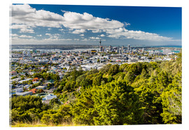 Acrylic glass  Skyline Auckland New Zealand - Thomas Hagenau
