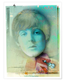 Premium poster  paul mccartney - Daniel Matzenbacher
