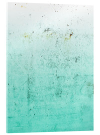 Acrylic print  Sea on concrete - Emanuela Carratoni