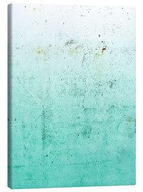 Canvas print  Sea on concrete - Emanuela Carratoni