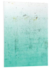 Foam board print  Sea on concrete - Emanuela Carratoni