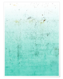 Premium poster  Sea on concrete - Emanuela Carratoni
