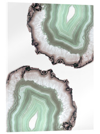 Acrylic glass  Light water agate - Emanuela Carratoni