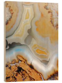 Wood  Golden agate - Emanuela Carratoni