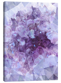 Canvas print  Light crystal - Emanuela Carratoni