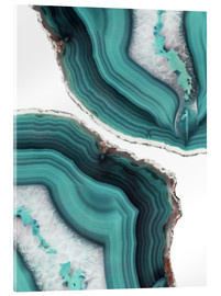Acrylic glass  Sea agate - Emanuela Carratoni
