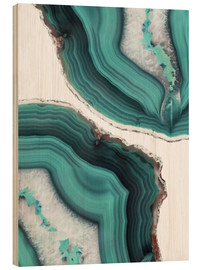 Wood  Emerald quartz - Emanuela Carratoni