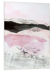 Foam board print  Black Mountain - Jan Sullivan Fowler
