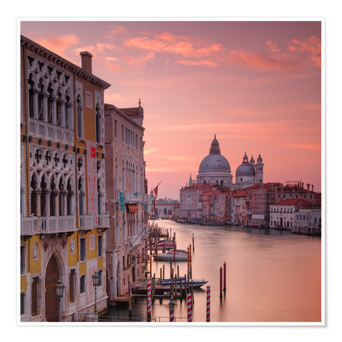 Premium poster Venice and the grand Canal at sunrise