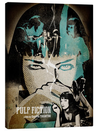 Canvas  Pulp Fiction - Albert Cagnef