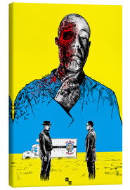 Canvas print  Breaking Bad Gus Fring death whit blood - Paola Morpheus