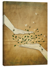 Canvas  Let's grow together - Sybille Sterk