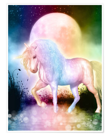 Premium poster Unicorn, love yourself