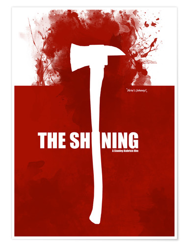 Premium poster The Shining - Minmal Movie alternative Fanart
