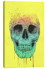 Canvas print  Pop art skull - Balazs Solti