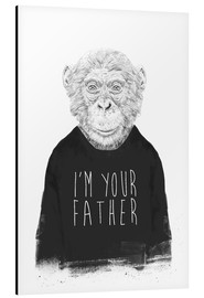 Aluminium print  I'm your father - Balazs Solti