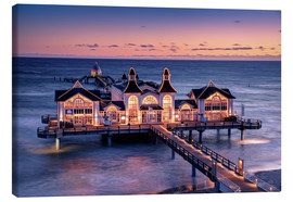 Canvas  Sellin Pier - Tanja Arnold Photography