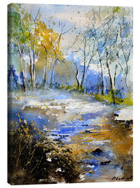 Canvas print  A clearing in the woods - Pol Ledent