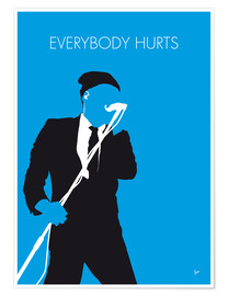 Premium poster R.E.M. - Everybody Hurts