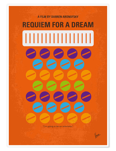 Premium poster Requiem For A Dream
