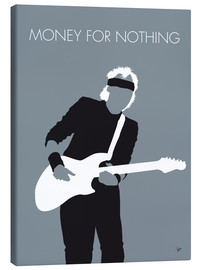 Canvas print  Mark Knopfler, Money for nothing - chungkong