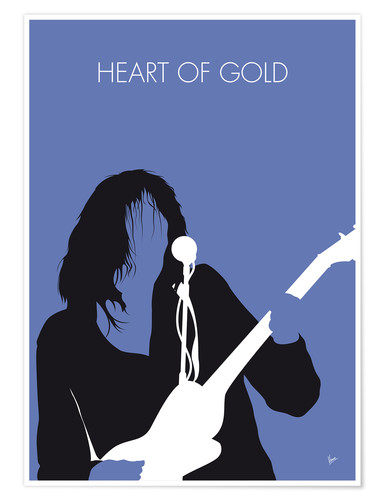 Premium poster No128 MY Neil Young Minimal Music poster
