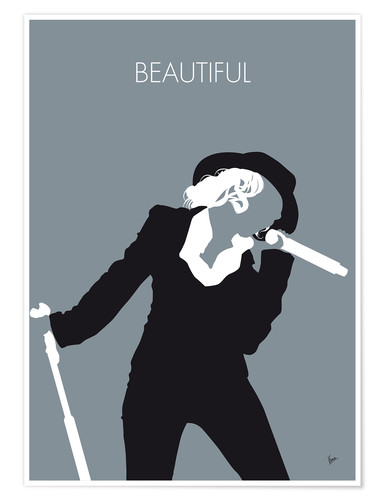 Premium poster Christina Aguilera - Beautiful