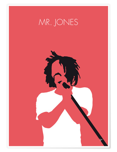 Premium poster Counting Crows - Mr. Jones