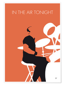 Premium poster Phil Collins - In The Air Tonight