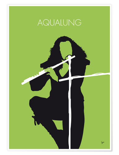 Premium poster No146 MY IAN ANDERSON Minimal Music poster