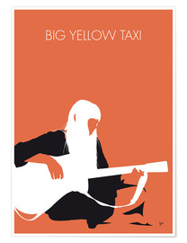 Premium poster Joni Mitchell - Big Yellow Taxi
