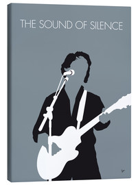 Canvas print  No097 MY PAUL SIMON Minimal Music poster - chungkong