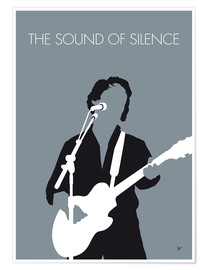 Premium poster No097 MY PAUL SIMON Minimal Music poster