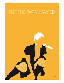 Premium poster Pink - Get The Party Started